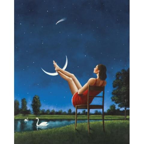 Rafał Olbiński (ur. 1943), Romance in the Moon