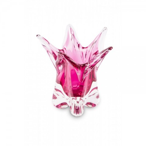 411. Patera, projekt wg: Flavio Polli – Murano (kolekcja Pink)