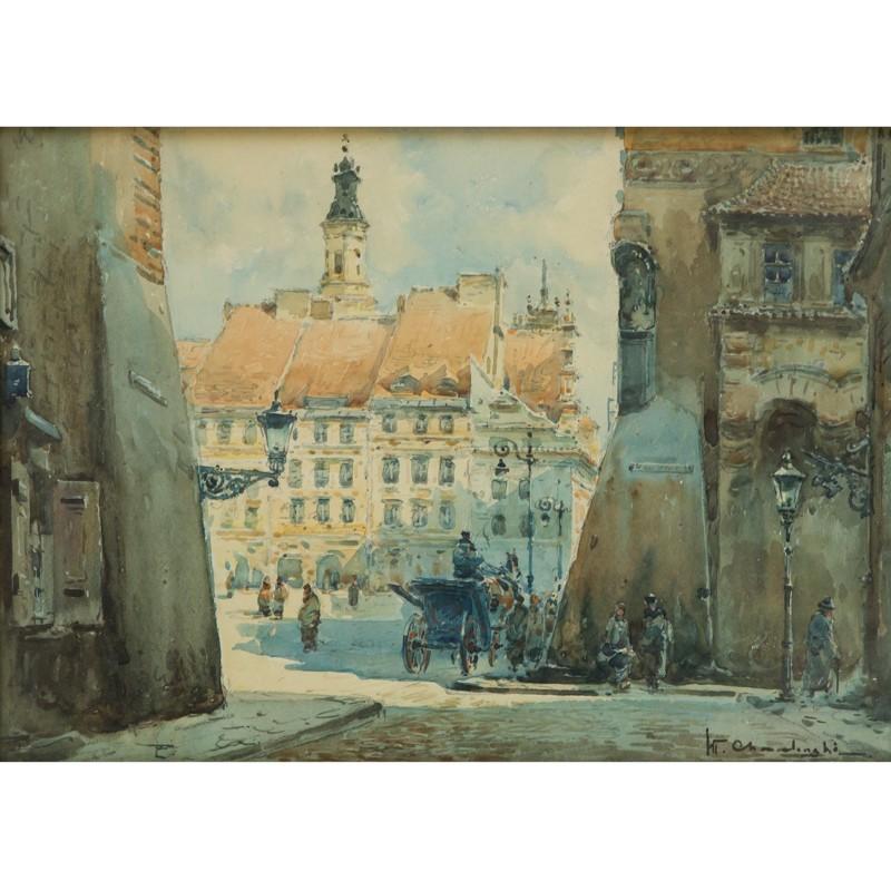 Władysław Chmieliński, Rynek Starego Miasta w Warszawie
