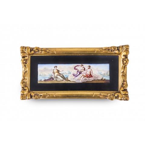 722 i 723. Miniatury, dwie sztuki, Włochy, XIX wiek