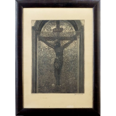 147. Jan Wojnarski (1879-1937), Krucyfiks królowej Jadwigi na Wawelu
