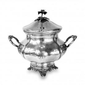 404. Cukiernica srebrna, August Louis Fizaine, Francja (Paryż), 1858 – 1879