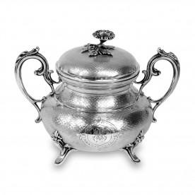 Cukiernica srebrna, Pierre Queille, Francja (Paryż), 2 ćw. XIX w.