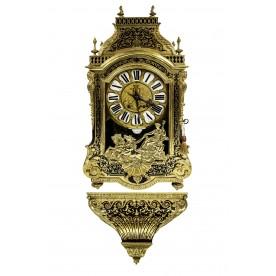 Zegar konsolowy w typie Boulle'a, Francja, ok. 1880